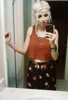 beautiful hippie