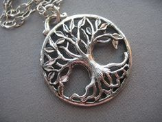Tree of Life Necklace  Tree of Life by SilverTrumpetJewelry, $25.00