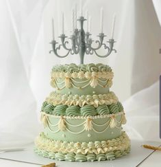 Pretty Birthday Cakes, Pretty Cakes, Beautiful Cakes, Korean Cake, Two Tier Cake, Pastel Cakes, Cute Desserts, Just Cakes, Small Cake