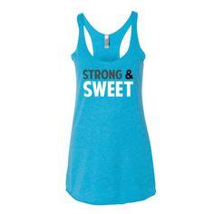 Women's tank top Strong & Sweet