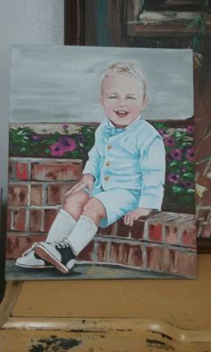 Original portrait Art By Jodi Hess