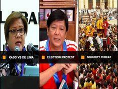 UNTV: Ito Ang Balita (January 05, 2017) - WATCH VIDEO HERE -> http://dutertenewstoday.com/untv-ito-ang-balita-january-05-2017/   — Panlimang drug-related case vs Sen. Leila de Lima, naihain na sa Department of Justice — Ex-Sen. Bongbong Marcos, posibleng pagbayarin ng P2 billion para sa VCMs — DILG, kinumpirma ang banta ng Abu Sayyaf at Maute group sa prusisyon sa Quiapo sa Jan 9  — Tunghayan ang mga ito kasama ng iba pan...