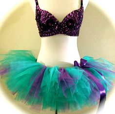 Adult Mermaid Tutu Princess Running TuTu by ShellyRioBoutique, $36.99
