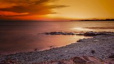 Sunset in Saronic gulf