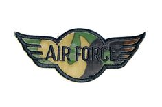 AIR FORCE military Embroidered patches jacket Cloth back patch quilt sew on