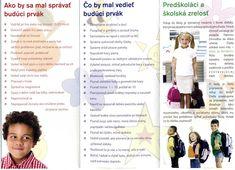 Školská zrelosť a školská pripravenosť :: CPPPaP v Senici