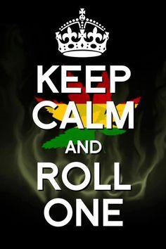 Rasta roll ~ SemillasDeMarihuana.com