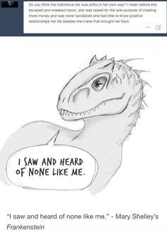 Poor Indominus...