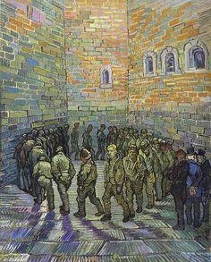 Van Gogh, Vincent (1853-1890) - 1890 The Prison Courtyard (Pushkin Museum of Fine Art) by RasMarley, via Flickr