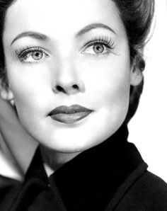 Gene Tierney in The Ghost and Mrs. Muir, 1947 (also starred Rex Harrison)