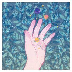 handful of saturn