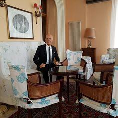 Marco Eugenio Di Giandomenico at the Londra  Hotel in San Remo (San Remo, Feb. 11, 2017)