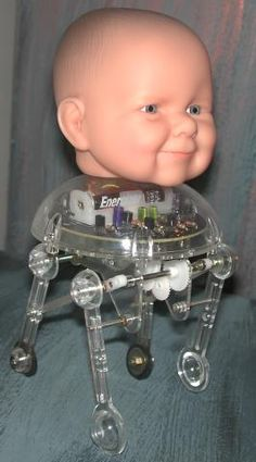 Aren't babies difficult enough without adding wires and gears to the experience?!  ...Carol
