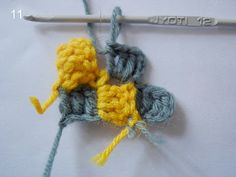 great tutorial for diagonal start or the corner to corner stitch
