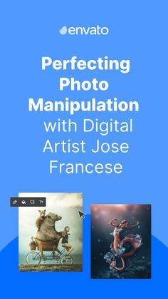 Digital artist Jose Francese is a true #photomanipulation master whose surreal works feature other-worldly creatures in mystical settings. Find out about his inspiration, process and how he uses @envato Elements to create his captivating photo compositions.
