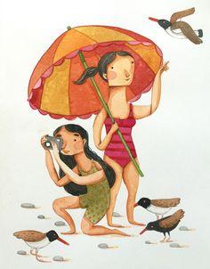 Illustration for the Shorebird Journal.United States Forest Service / Alaska…