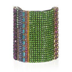 Charm & Chain   Confetti Cuff - Erickson Beamon - A-Z Designers - Designers