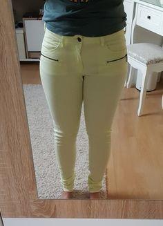 Kaufe meinen Artikel bei #Kleiderkreisel http://www.kleiderkreisel.de/damenmode/jeans/131007266-hellgelbe-hose-von-jacqueline-de-yong