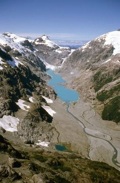 Laguna inexplorada , al sur de Puerto Montt