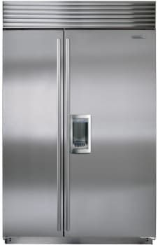kitchenaid 48 refrigerator. KitchenAid 48 In. W 29.5 Cu. Ft. Built-In Side By Refrigerator In Stainless Steel | NYC Penthouse Pinterest KitchenAid, And Kitchenaid