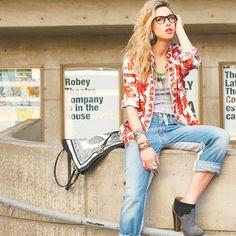 Eclectic cool like Gillian Zinser/Ivy Sullivan