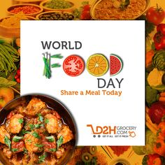 Imagine a world where everyone could eat. This #WorldFoodDay, pledge to #endhunger and share a meal with someone!