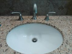 New sink installed as well