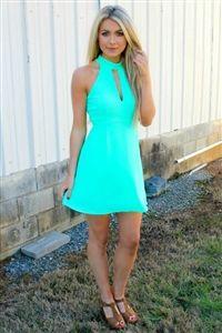 Boutique, Dresses, God Only Knows Dress - Mint