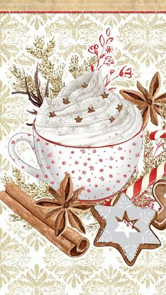 iPhone Wall: Christmas tjn Mural do iPhone: Christmas tjn Noel Christmas, Christmas Paper, Christmas Pictures, Christmas And New Year, Winter Christmas, Vintage Christmas, Christmas Crafts, Christmas Decorations, Xmas