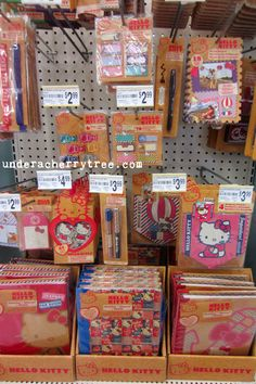 Under A Cherry Tree: Hello Kitty SMASH Books and Accessories at Michael's