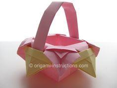 Origami Fancy Basket