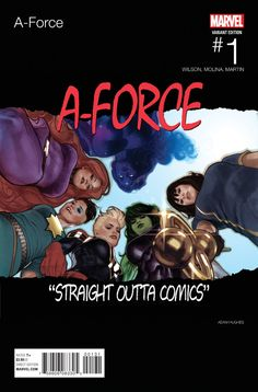 A-Force #1 - Hip-Hop variant (Issue)