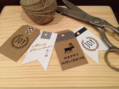 Holiday DYI gift tags