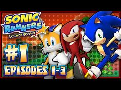 Sonic Runners - (HD 60FPS) Part 1