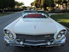Used 1958 Lincoln Continental Convertible Stock # 1119 in Los Angeles, CA at Beverly Hills Car Club, CA's premier pre-owned luxury car dealership. Come test drive a Lincoln today! Convertible, Retro Cars, Vintage Cars, Beverly Hills Cars, Lincoln Continental, Counting Cars, Mercury Cars, Luxury Car Dealership, Us Cars