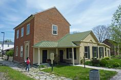 Harriet Beecher Stowe witnessed slavery for the first time here in Washington (Maysville) KY