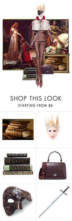 """""""The Lady Marian"""" by the-house-of-kasin ❤ liked on Polyvore featuring Anya Hindmarch and Paula Cademartori"""