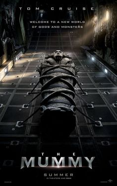 Il poster del film The Mummy: La Mummia (USA 2017) di Alex Kurtzman... #horror #movie