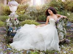 Bridal Gowns, Wedding Dresses by Jim Hjelm - Style jh8554