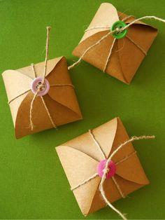 Tidings doces: Fazendo caixas de bombom