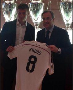 Le numéro de Toni Kroos au Real Madrid - http://www.actusports.fr/113003/le-numero-de-toni-kroos-au-real-madrid/