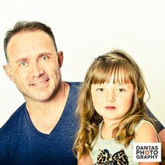 Father and Daughter #Cute #HairPost #FamilyFun #Rushden #Northamptonshire