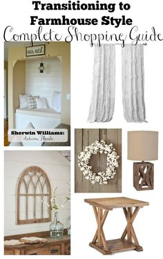 Transitioning to Farmhouse Style: A Complete Shopping Guide