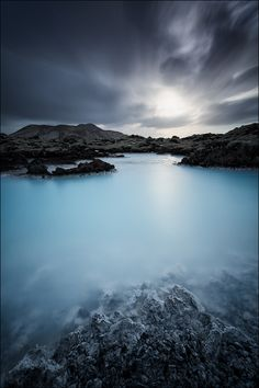 Blue Lagoon, Península de Reykjanes, Islândia  Blue Lagoon, Reykjanes Peninsula, Iceland