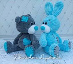 Crochet baby blanket animals teddy bears Ideas for 2019 Crochet Bunny Pattern, Crochet Teddy, Crochet Toys Patterns, Amigurumi Patterns, Stuffed Toys Patterns, Crochet Dolls, Blanket Yarn, Baby Blanket Crochet, Crochet Animals
