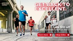 Get Back to Excellent - Take $10 off your purchase of $75 or more
