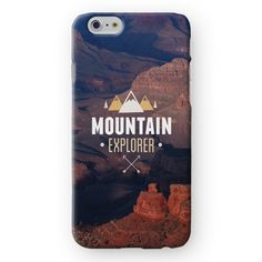 Mountain Explorer iPhone Cover by Madotta | Available for iPhones and  Samsung Galaxy S devices. Exclusive Design. Printed in the UK. International shipping available. Chic iPhone 7 Plus Cases and Covers #madotta See more at https://madotta.com/collections/all/?utm_term=caption+link&utm_medium=Social&utm_source=Pinterest&utm_campaign=IG+to+Pinterest+Auto