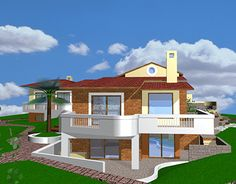 """Check out new work on my @Behance portfolio: """"House in northern Greece"""" http://be.net/gallery/32409041/House-in-northern-Greece"""