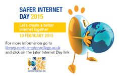 Today is Safer Internet Day, and we will be sharing hints and tips over the course of this week on our Facebook and Twitter pages. Find us @ thelibraryatnc