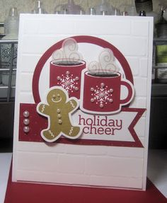 Would love to make something like this with my new gingerbread man die. Where are these darling mugs from???